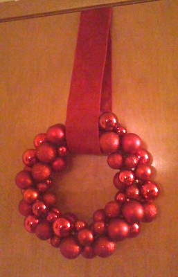 easy christmas ornament wreath pier one