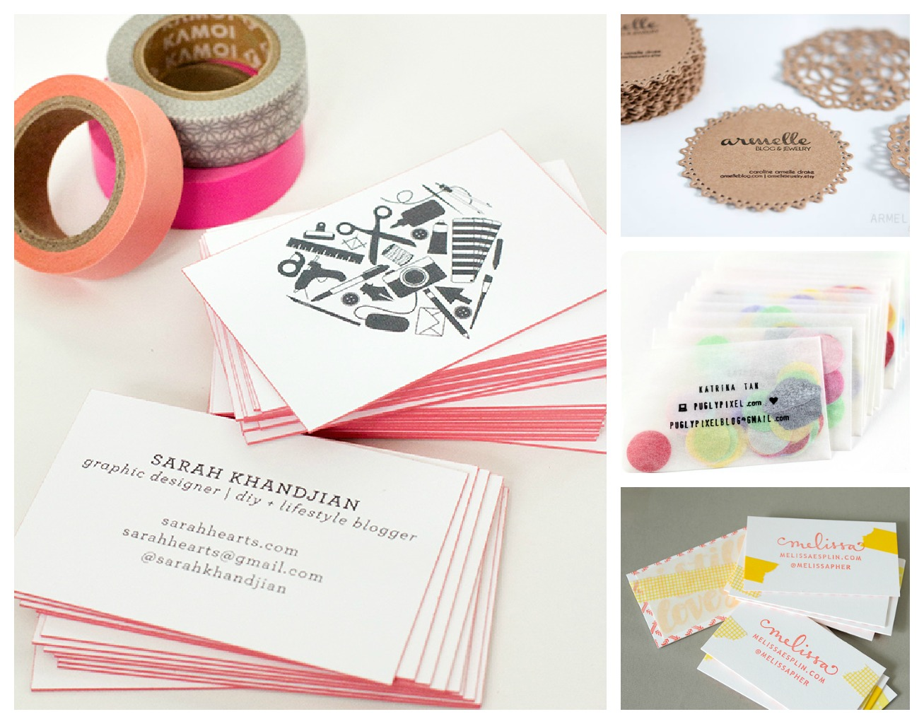 The Red Kitchen Diy Business Cards I Like