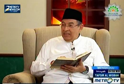 Pesantren Sidogiri Membongkar Pemikiran Menyimpang Ulama Metro TV Quraish Shihab
