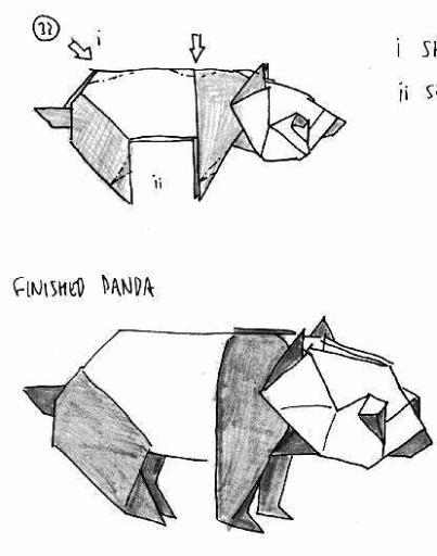 origami panda diagram  u00ab embroidery  u0026 origami