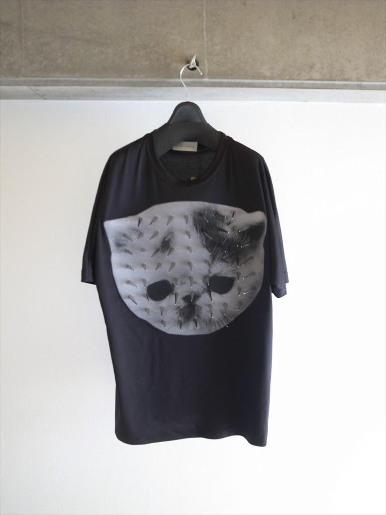 SHAUN SAMSON 2013SS - Cat Studs T-shirts