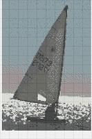 Sailing Cross Stitch Chart