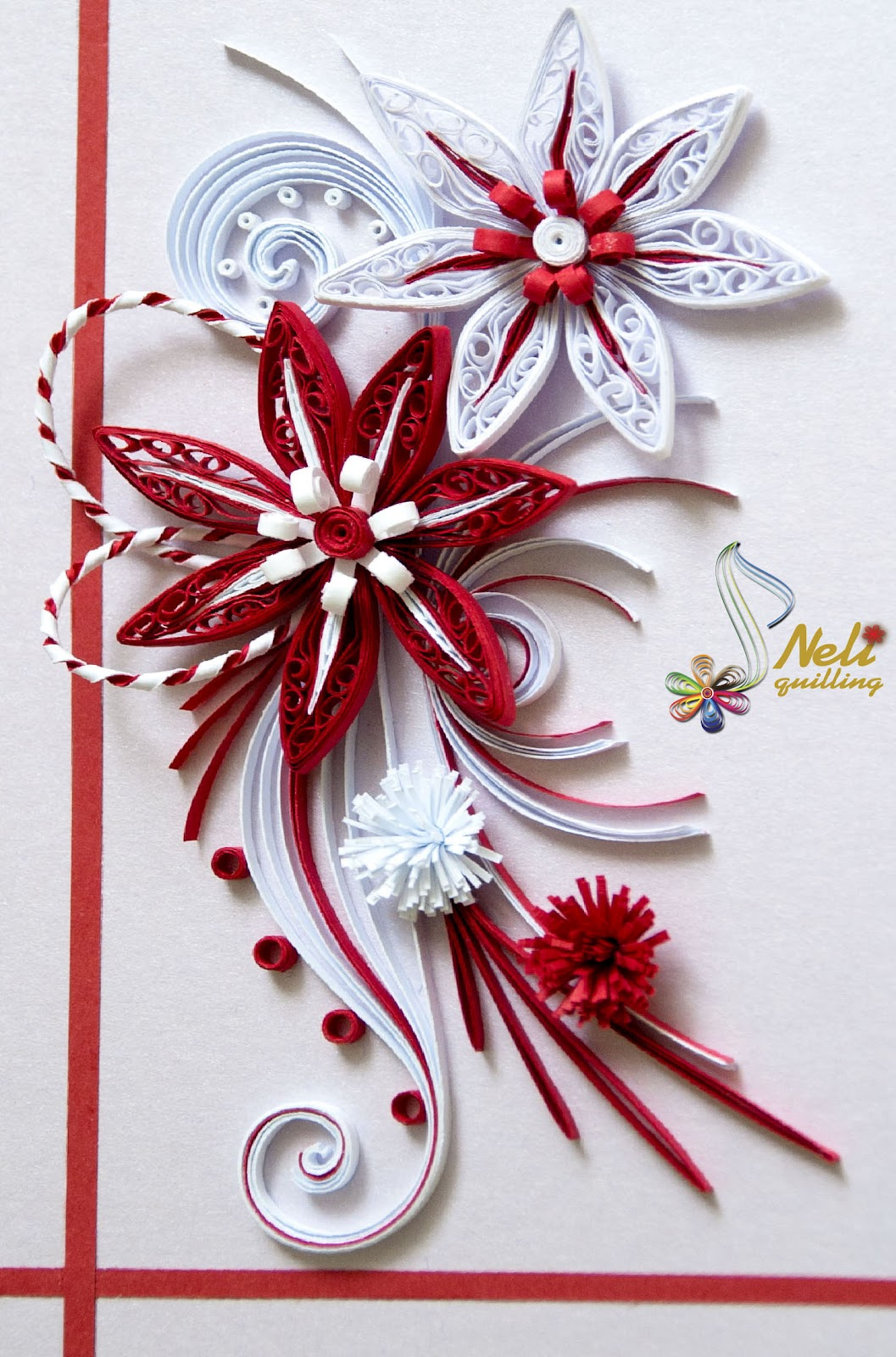Neli quilling art quilling cards baba marta 105 145 quilling cards baba marta 105 145 m4hsunfo