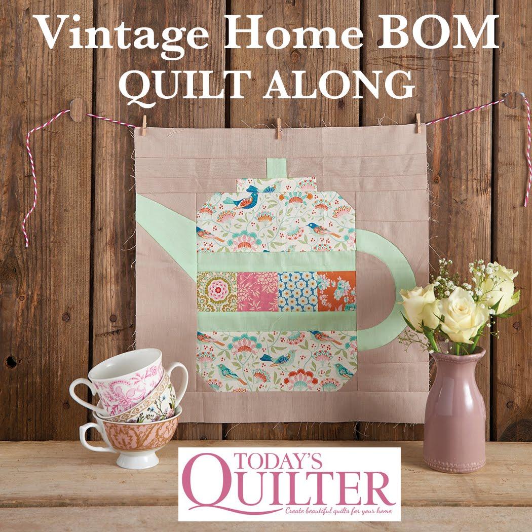 Vintage Home BOM Quilt Along