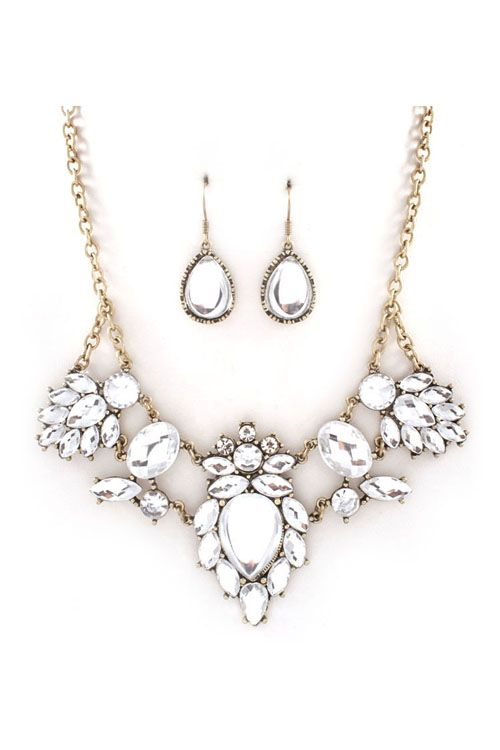 Necklace Set in Ice