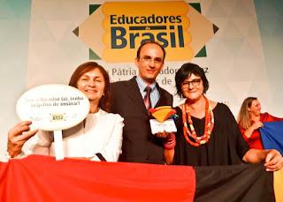 Escola estadual da cidade de Picuí recebe o Prêmio Gestão Escolar em Brasília