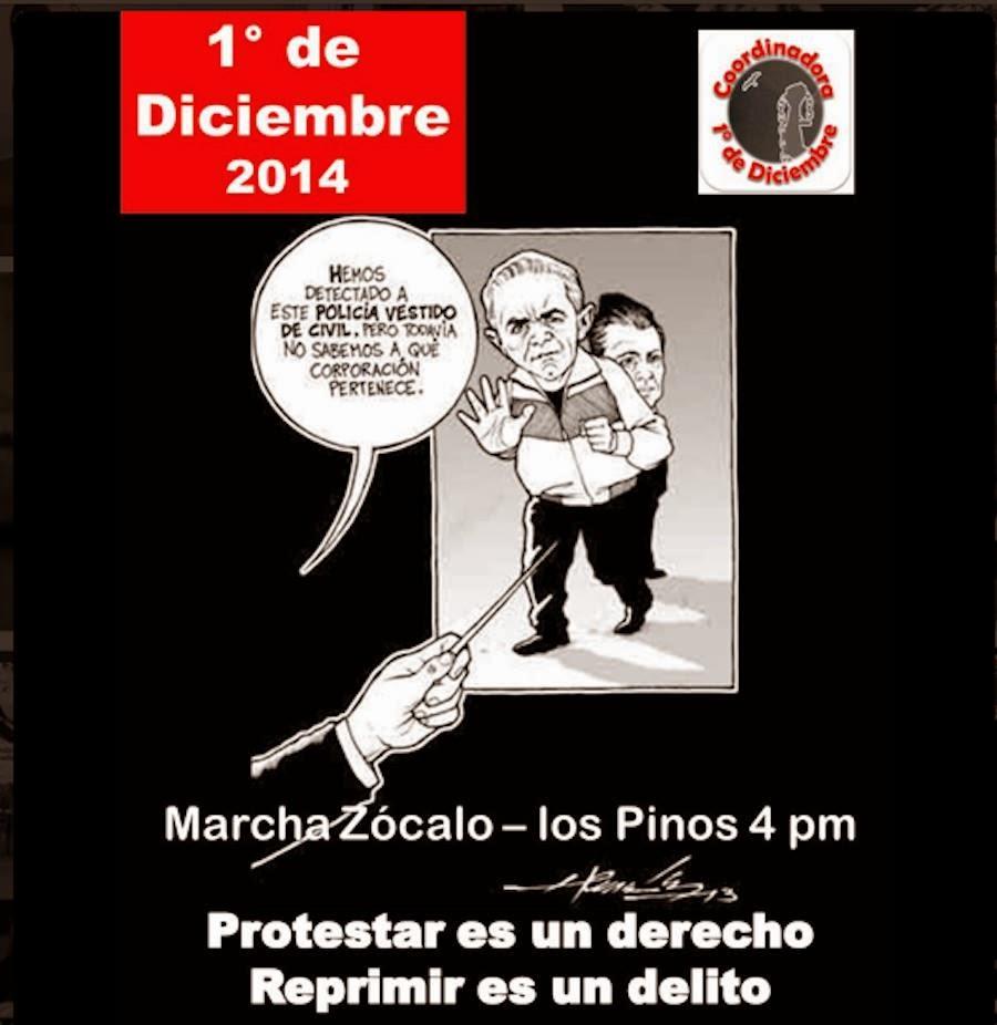 PROTESTAR ES UN DERECHO, REPRIMIR ES UN DELITO...