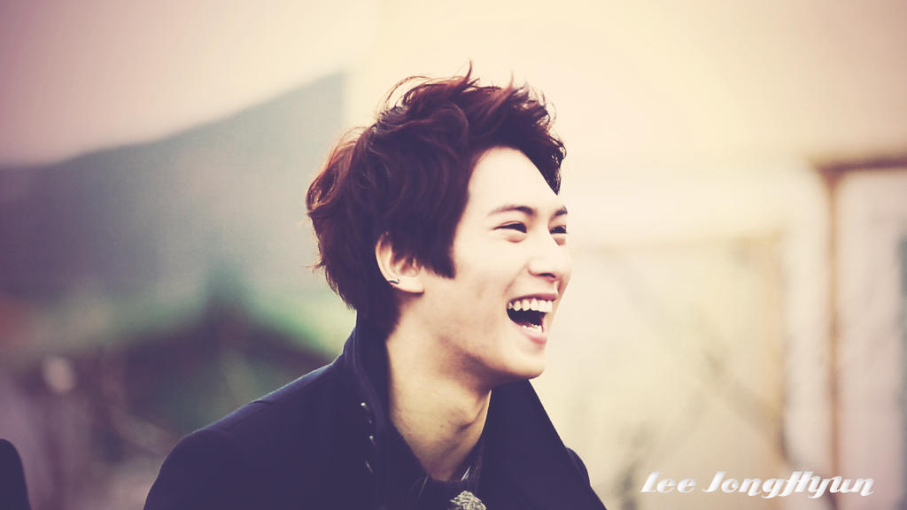 cnblue lee jong hyun smile