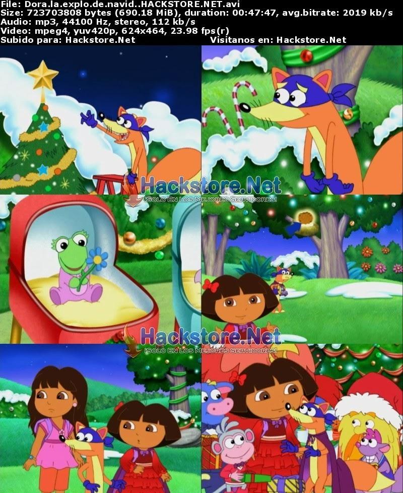 Captura Dora La Exploradora: Aventuras De Navidad (2010) DVDRip Latino