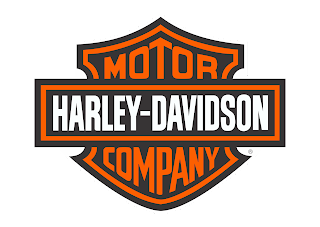 Motor harley davidson Logo Vector download free