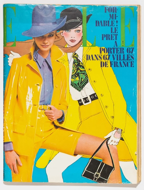 Antonio Lopez French Elle, March 1967