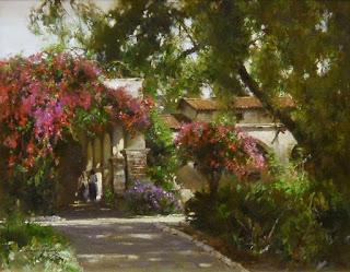 Paisajes con Haciendas Coloniales Pinturas