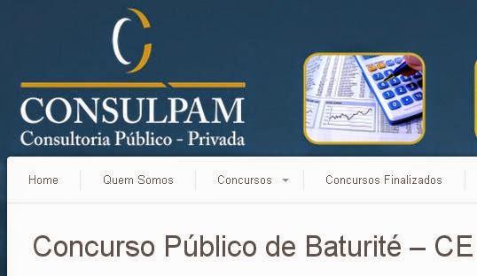 GABARITO PRELIMINAR - Concurso Público de Baturité – CE