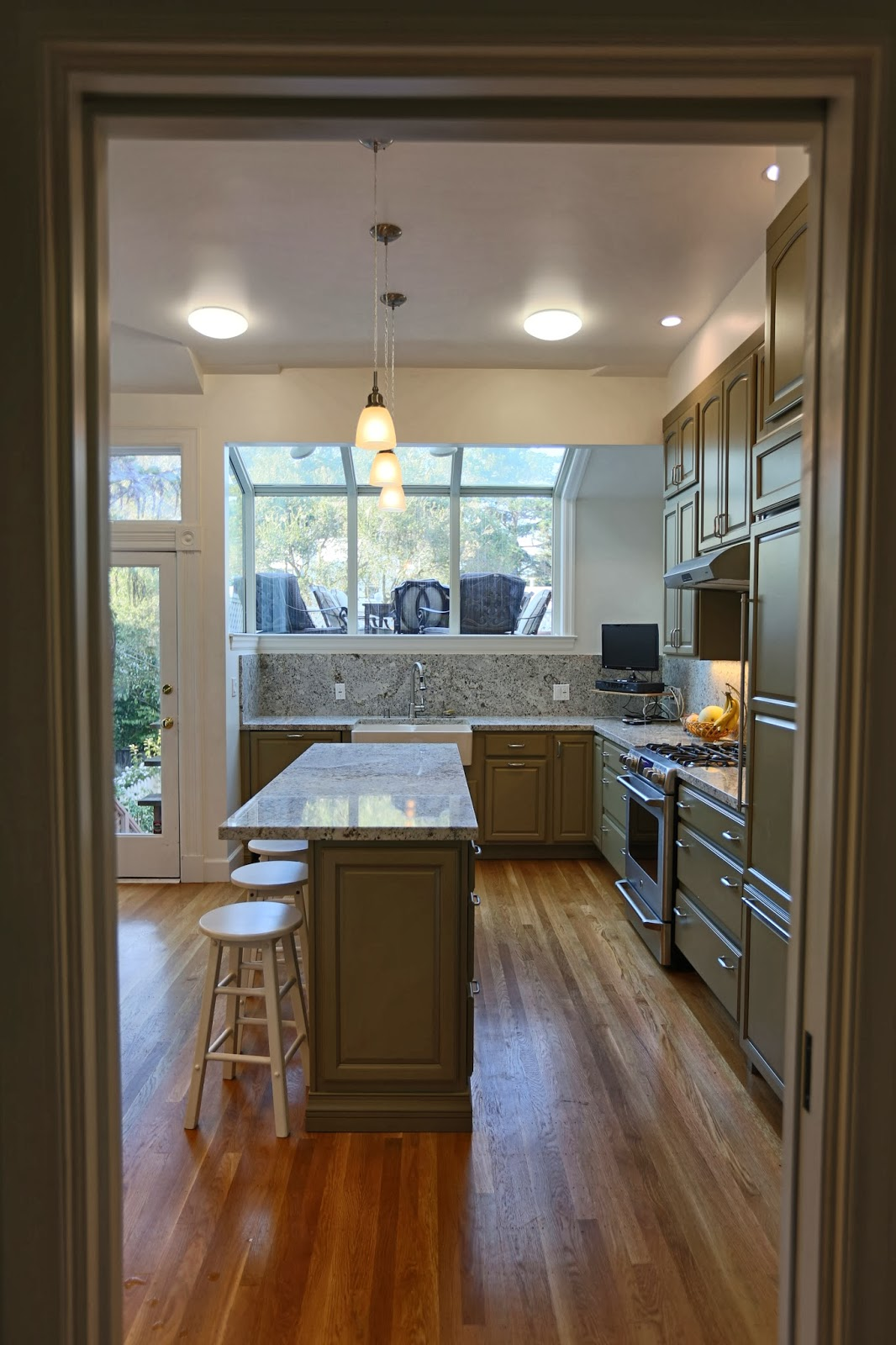 Refrigerator With Cabinet Panels