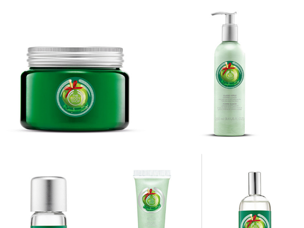 BEAUTY| THE BODYSHOP'S GLAZED APPLE RANGE
