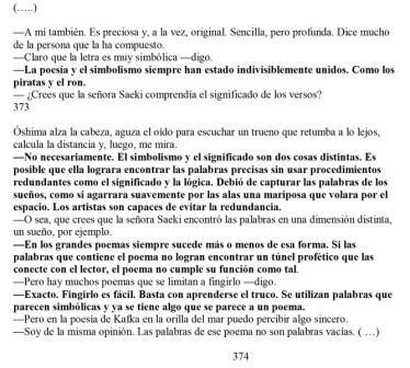 Haruki Murakami, Kafka en la orilla,Buenos Aires: Tusquets Editores,2009.