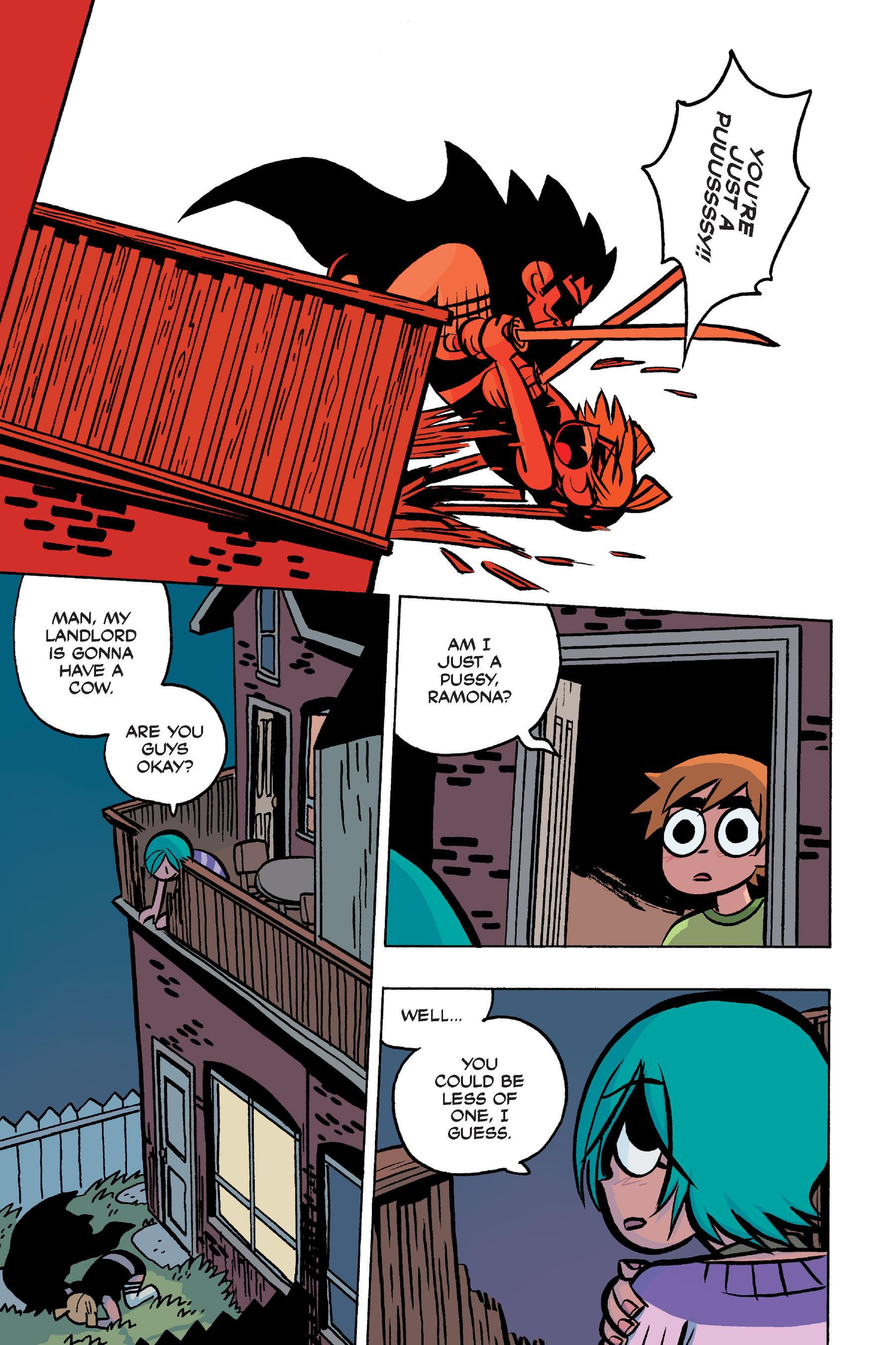 Read online Scott Pilgrim comic -  Issue #4 - 177