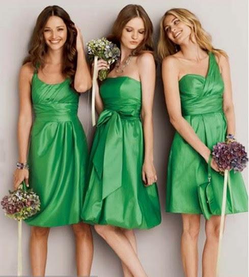 Vestito verde scarpe