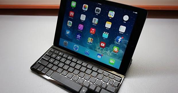 【邀稿】iPad Air 最搭的羅技超薄鍵盤保護殼, 打字快狠準