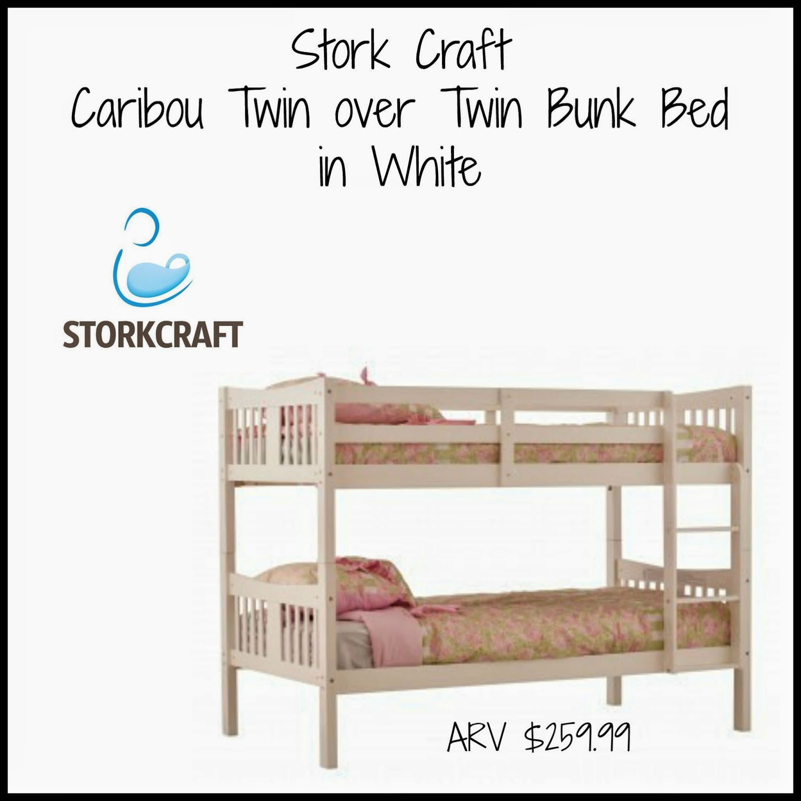 The Story Of Three Stork Craft Bunk Bed Review And Giveaway