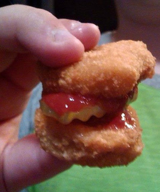 After School Snack: chicken nugget appetizers