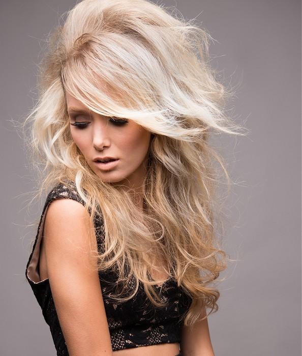 Peinados Con Volumen Pelo Largo - Más de 1000 ideas sobre Peinados De Volumen Medio en Pinterest