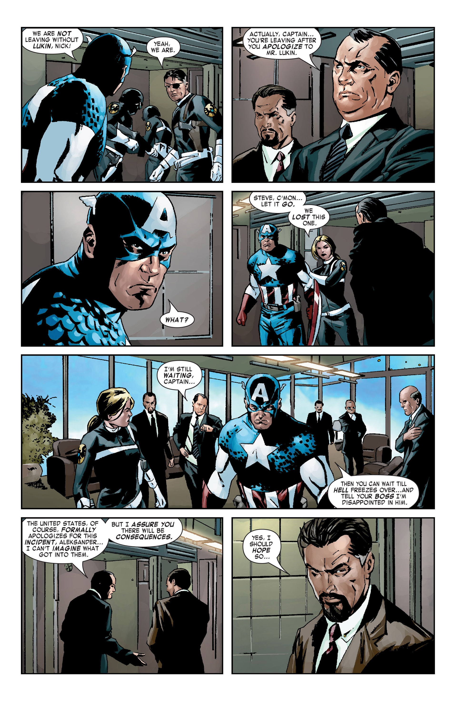 Captain America (2005) Issue #9 #9 - English 20