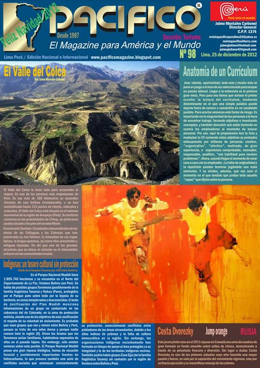 Revista Pacífico Nº 98 Turismo
