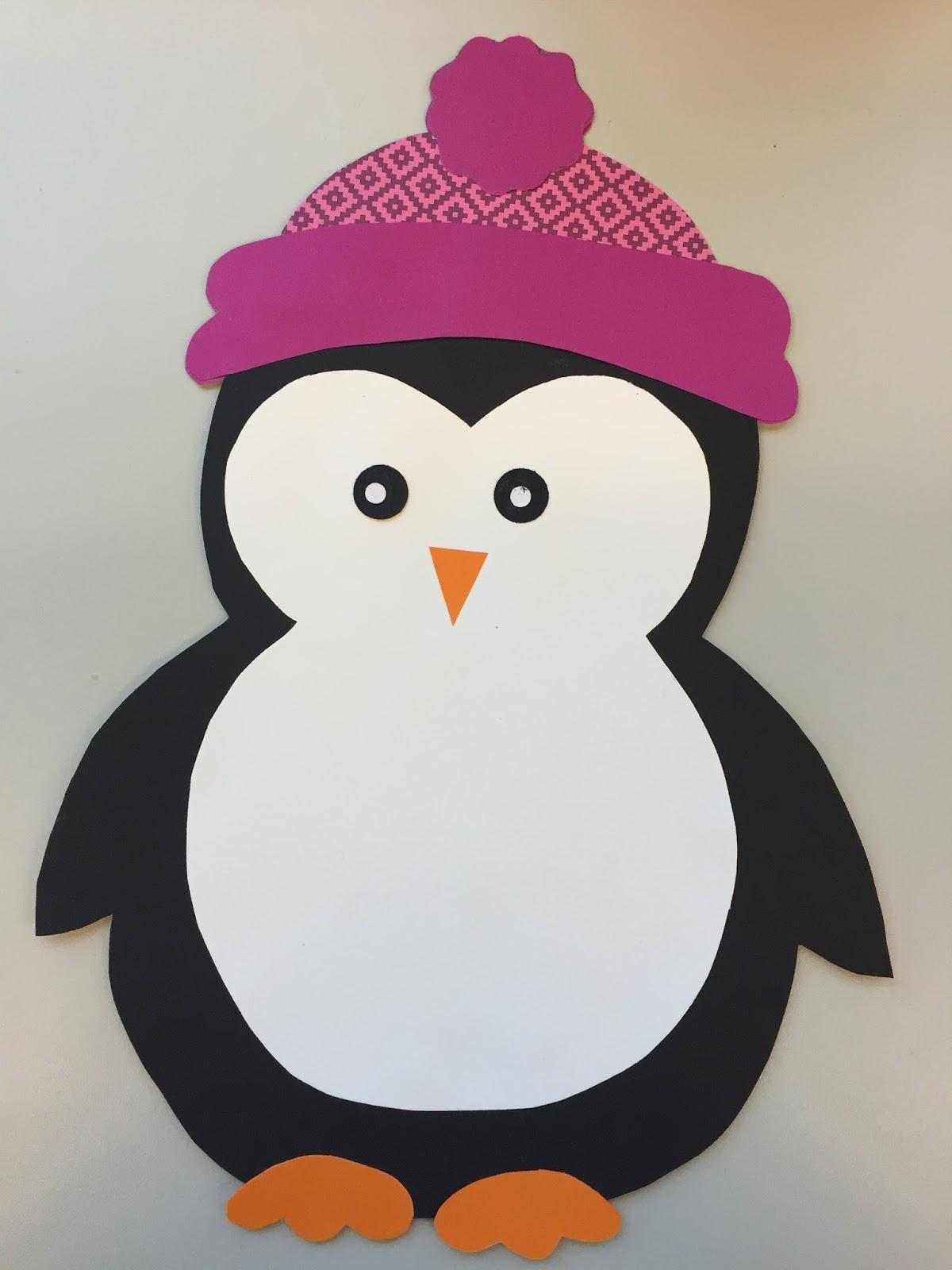 Как сделать цветок из бумаги пингвинов