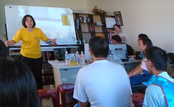 東大八八風災志工 到安心家庭關懷協會受山達基志願牧師訓練