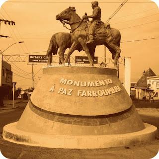 Monumento à Paz Farroupilha, na Entrada de Dom Pedrito