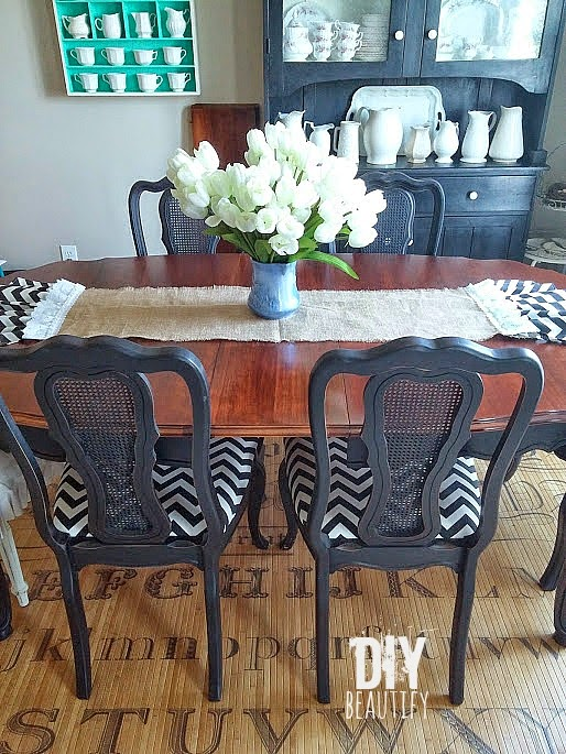 refinishing a dining table | diy beautify