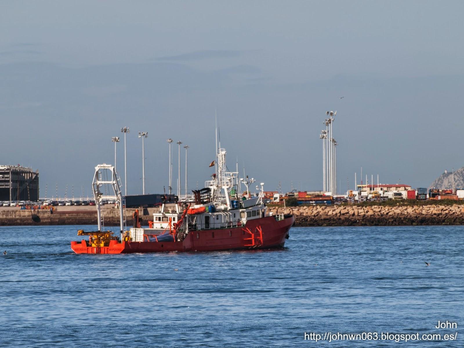 fotos de barcos, imagenes de barcos, investigador, oceanografico, vigo