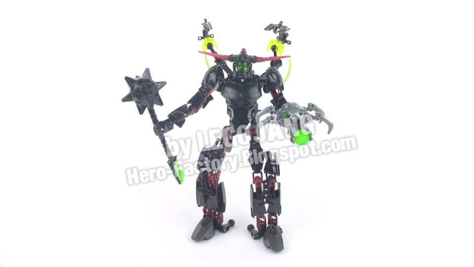lego hero factory black phantom set review  breakout