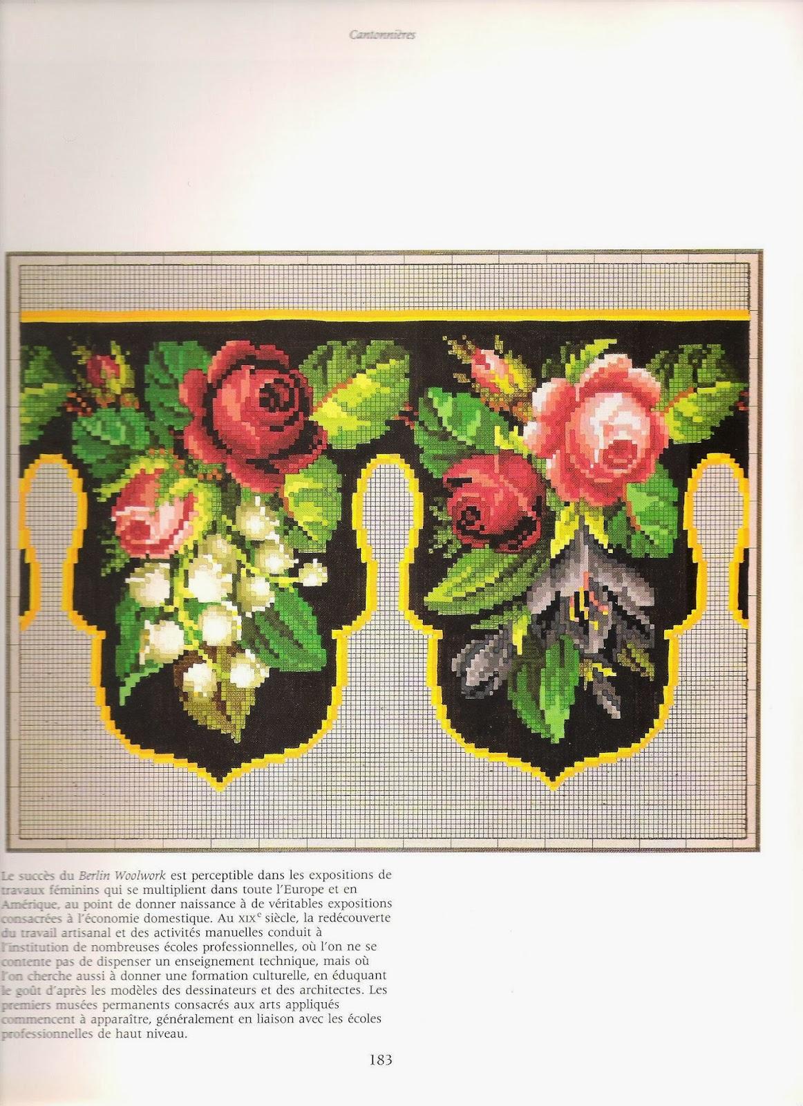 Дом моей мечты.: Книга Французская вышивка крестом 19 века