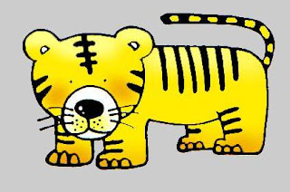 cartoon animal free clipart this clipart is tiger microsoft clipart