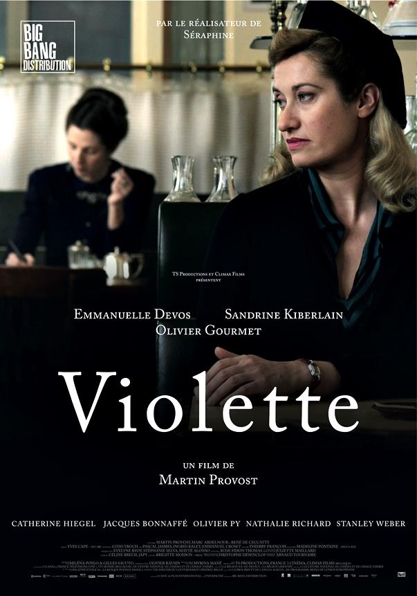 Póster de Violette, de Martin Provost