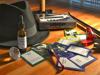 Larceny heist game Kickstarter interview with Bill Smith