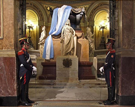 MAUSOLEO DEL General JOSÉ SAN MARTÍN.