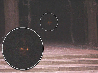 Real Ghost Photo: Demon in the dark