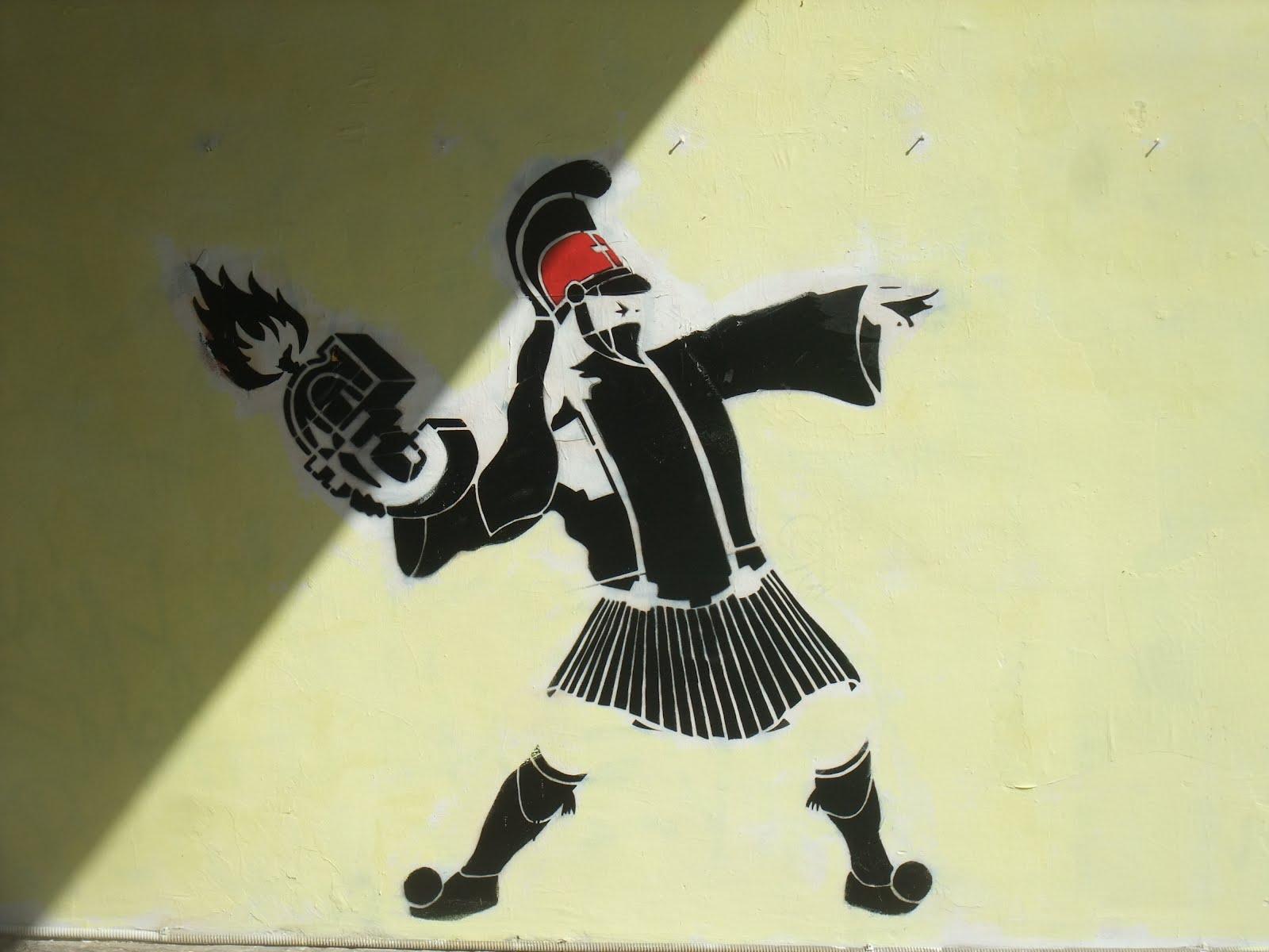 SNIPPITS AND SNAPPITS: GREEK GRAFFITI