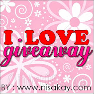 I LOVE GIVEAWAY by www.nisakay.com