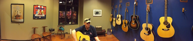 Randy at Martin Guitar