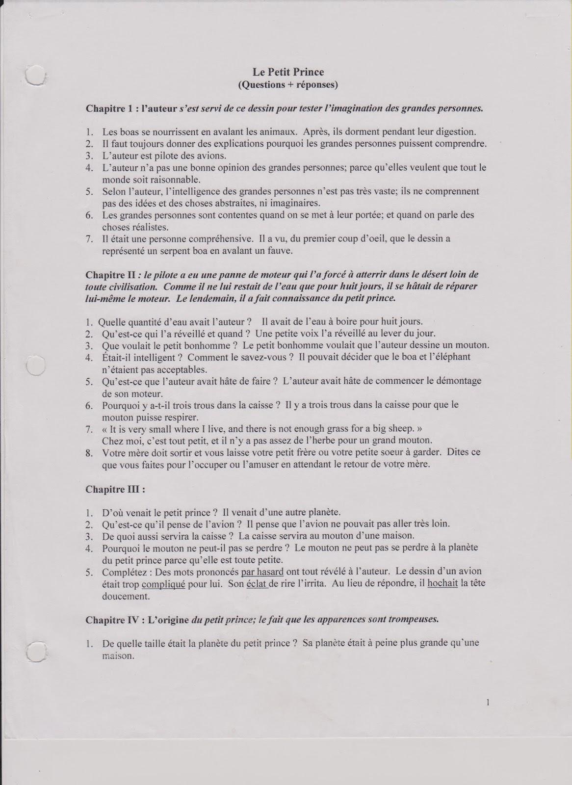 notes for you questions et r 233 ponses chapitres 1 23 de le