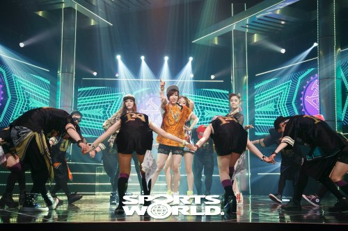 Foto dan Video T-ara N4 di M!Countdown 30 Mei 2013