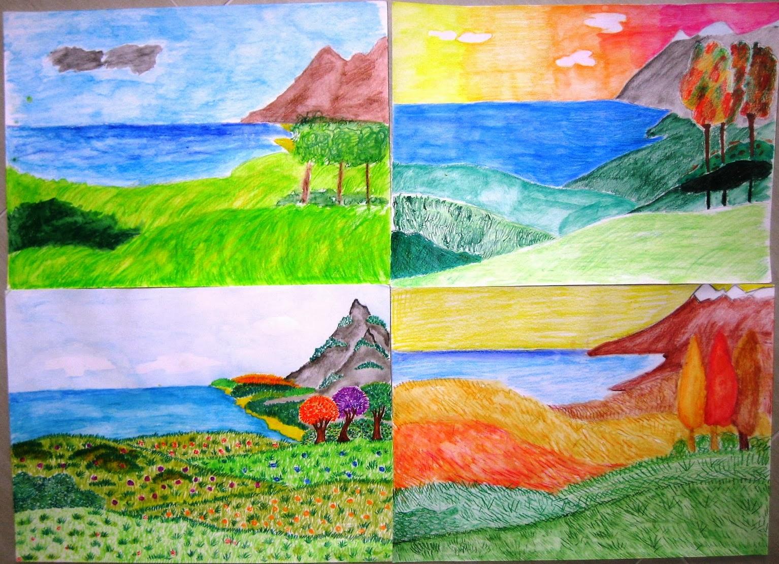 Immagin rti paesaggio naturale for Paesaggi semplici da disegnare