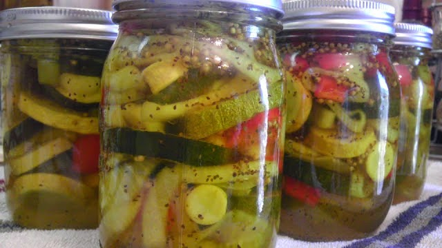 Homemade Bread and Butter Pickles