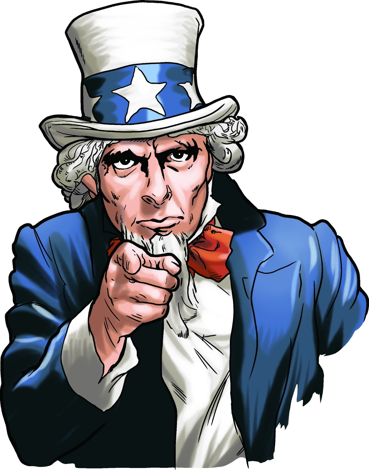 i want you uncle sam clipart Uncle Sam Black and White Clip Art Original Uncle Sam