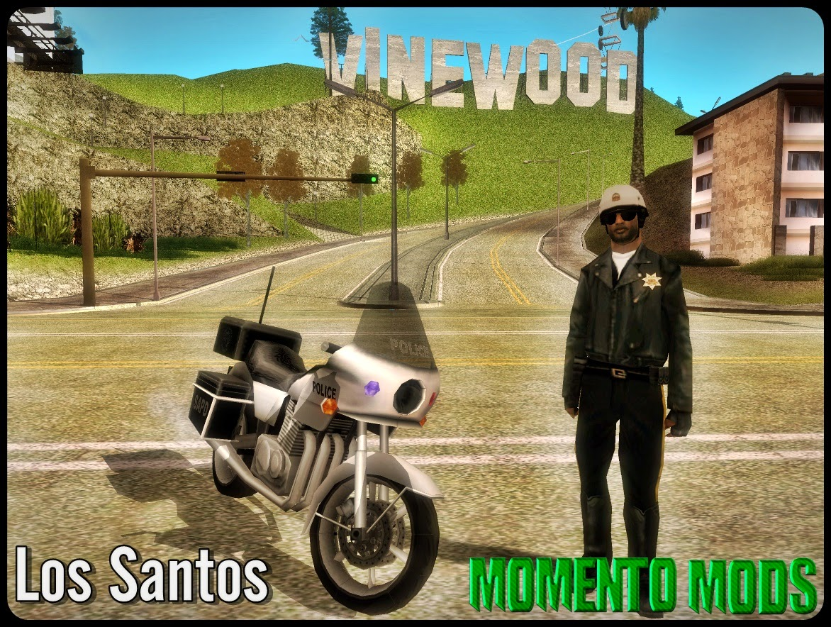 GTA SA - Cop Bikers Overhaul