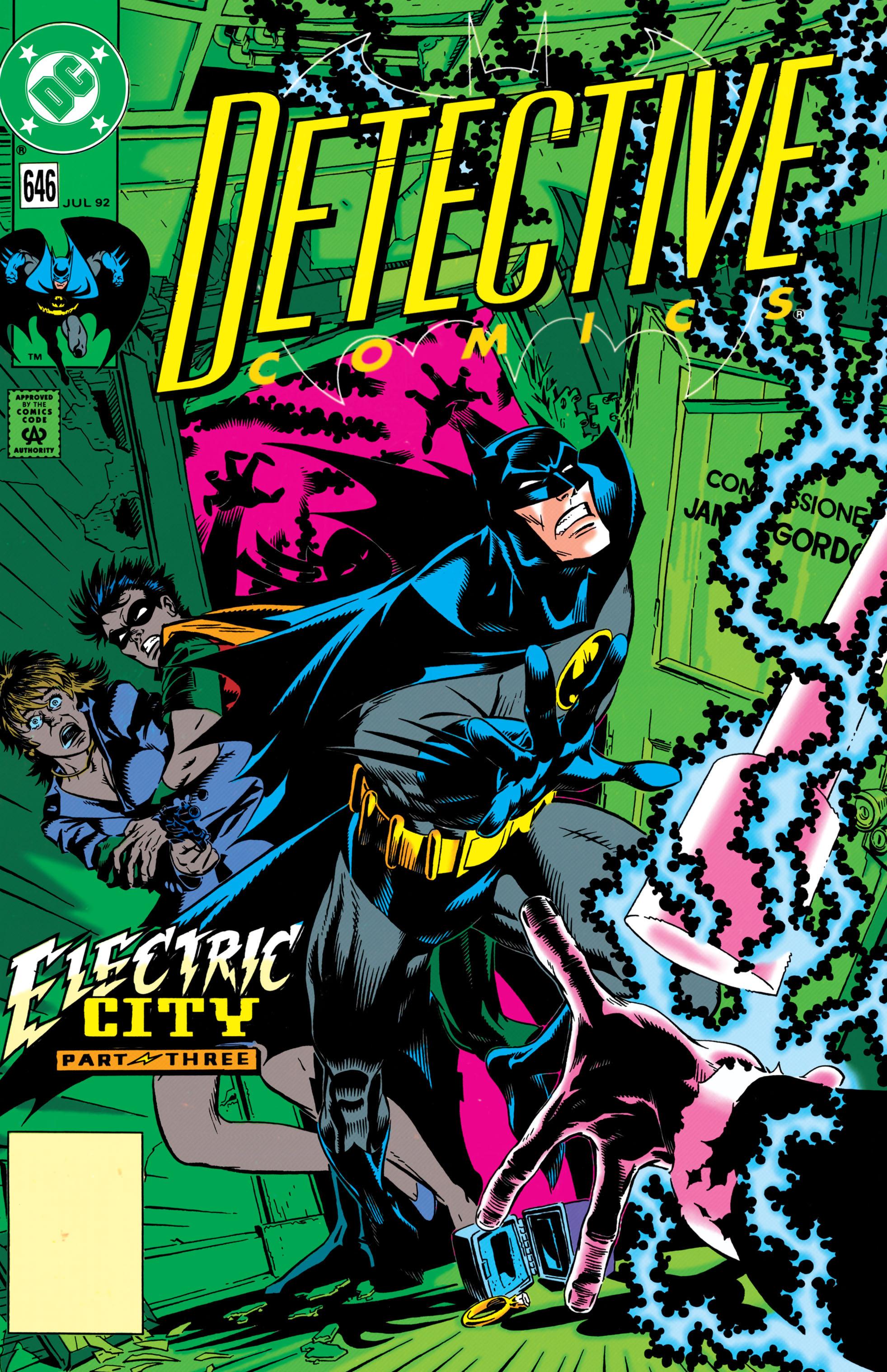 Detective Comics (1937) 646 Page 1